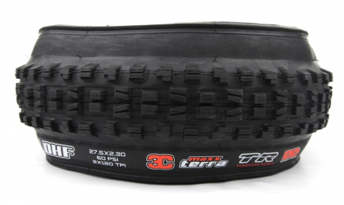Pneu Maxxis Minion DHF - 3C Maxx Terra - Double Down - Tubeless Ready assiette